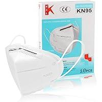 Kit Mascara Kn95 N95 Branca Proteção Alta Qualidade 20 Unidades - C ANVISA
