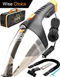 Car Vacuum Cleaner high Power - 110W 12v Corded auto Portable Vacuum Cleaner