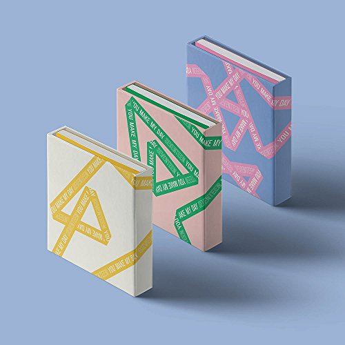 - Pledis Entertainment SEVENTEEN - YOU MAKE MY DAY [Random ver.] (5th Mini Album) CD+Photobook+Lyrics Paper+Photocards+Folded Poster