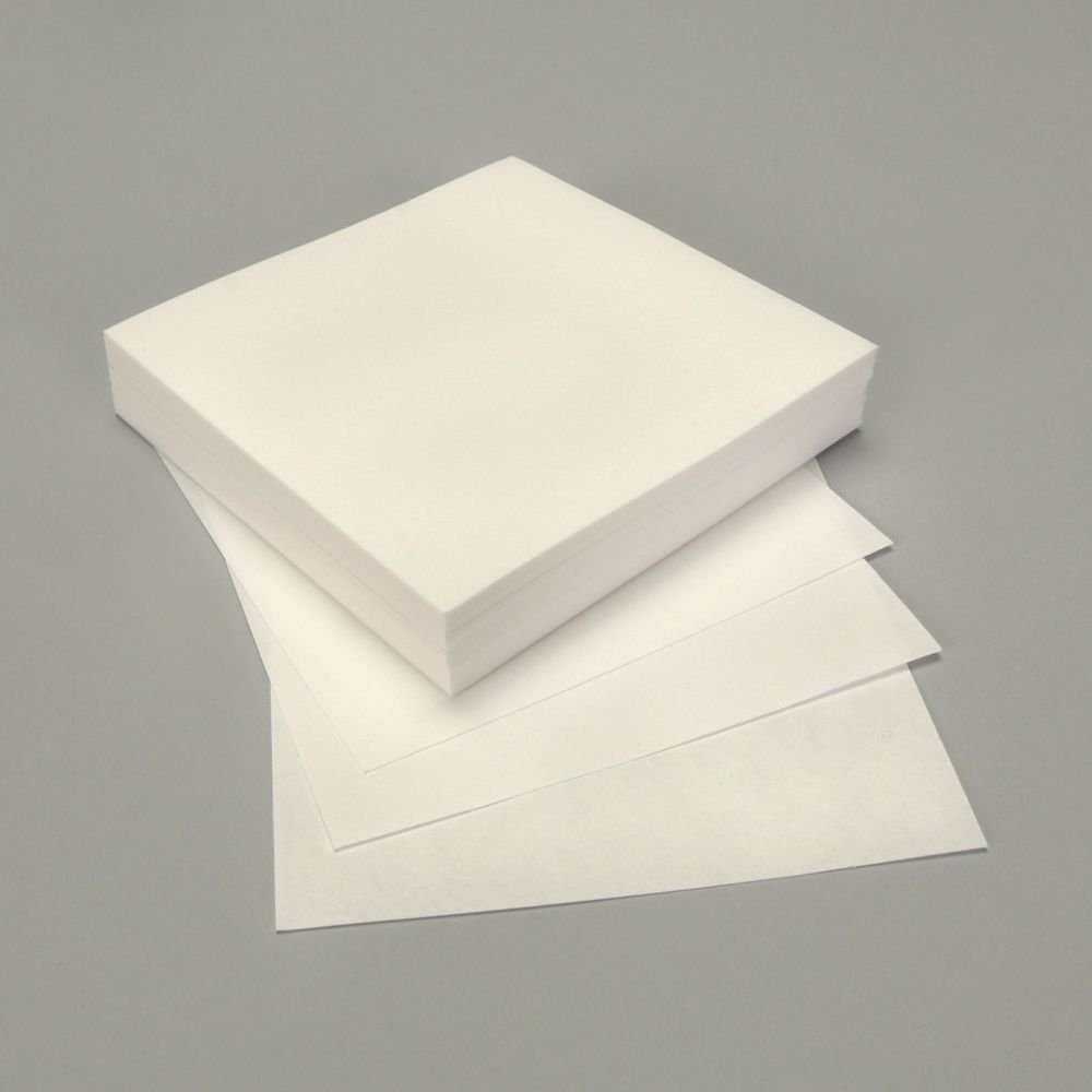 Whatman No. 1 Chromatography Paper, 11-cm2 Sheets, Pack of 100