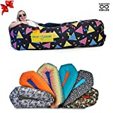 CHILLBO SHWAGGINS 2.0 Best Inflatable Lounger Portable Hammock Air Sofa and Camping Chair Ships Fast! Ideal Inflatable Couch and Camping Accessories for Outdoor Picnics & Festival Chair