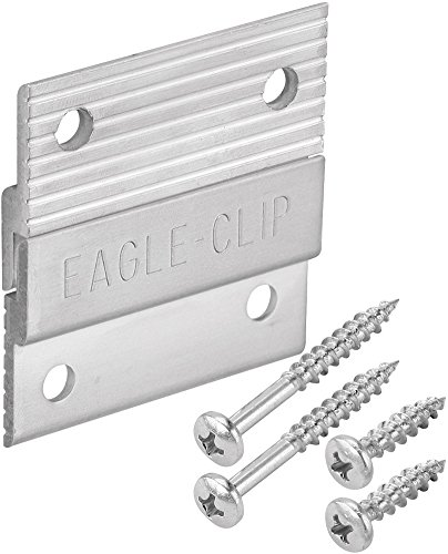 Platte River 164484, Fasteners, Mechanical Fasteners, Aluminum Z-Clips 2'', 20-pack by Platte River (Image #2)