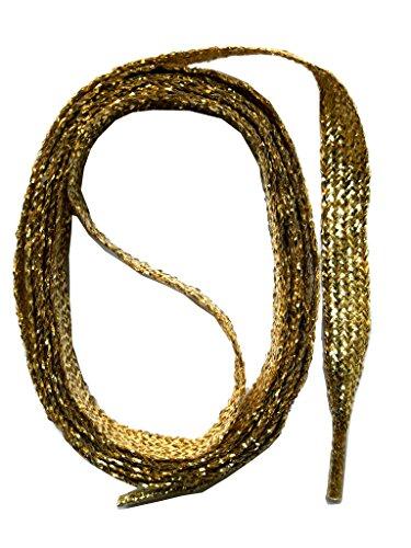 7 Oro Colorati Colorate 8mm Snors Lacci Piatti Scarpe Per Ca Stringhe qUx0OfB