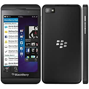 blackberry z10 unlocked cellphone 16gb black. Black Bedroom Furniture Sets. Home Design Ideas