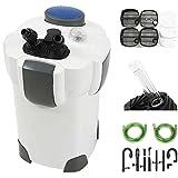 100 gallon glass tank - Aquarium Pumps & Filters 100 Gallon Aquarium Fish Tank Canister Filter + 9W UV Sterilizer 370 GPH