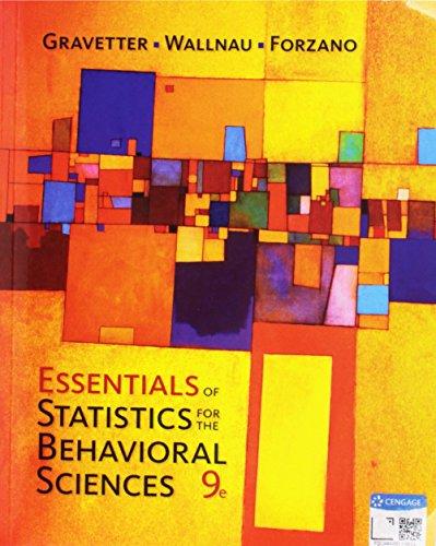 Essentials Of Statistics For The Behavioral Sciences Bundle W/ Aplia