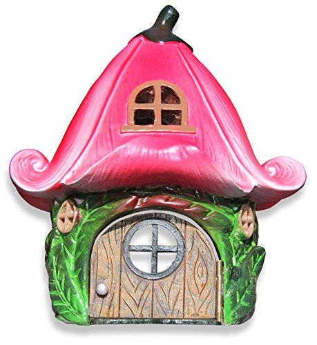 PREMIUM Lily Flower Fairy Garden House 6