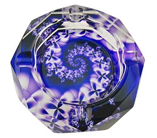 (Beautiful Colorful Transparent Octangle Shape Diameter 3.9