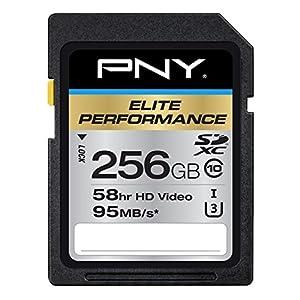 PNY 256GB Elite Performance Class 10 U3 SDXC Flash Memory Card 51nDXbUDvZL. SS300