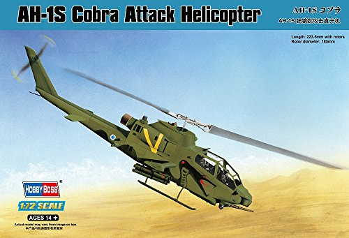 Hobby Boss AH-1S Cobra Attack Helicopter Model Building Kit