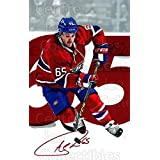 Andrew Shaw Hockey Card 2016-17 Montreal Canadiens Postcards #22 Andrew Shaw