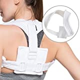 Clavicle Support Brace - Medical Reset Fixation of Clavicle, Scapula Fracture, Shoulder Injury, Dislocation, Muscle Strain, Sprain, Improves Thoracic Kyphosis for Men and Women by Velpeau(Large)