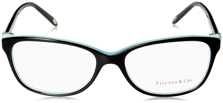 8b40691ff4a Amazon.com  TIFFANY Eyeglasses TF 2097 8055 Black Blue 54MM  Shoes
