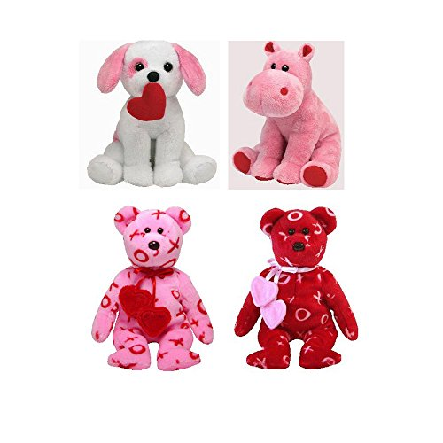Ty Beanie Babies Valentine's Day Gift Bundle