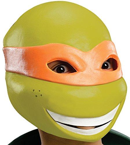 Teenage Mutant Ninja Turtles Michelangelo 3/4 Mask - Teenage Mutant Ninja Turtles Masks Sale