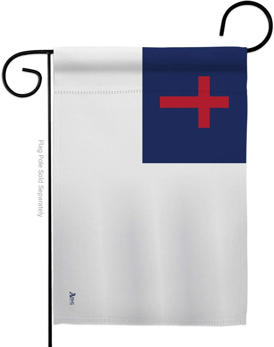 Americana Home & Garden Christian Garden Flag Religious Faith Hope Grace Peace Dove Religion Easter House Decoration Banner Small Yard Gift Double-Sided, Made in USA
