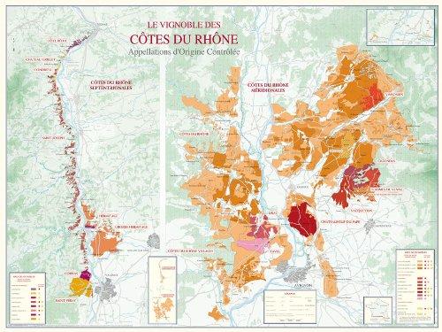Vignoble Côtes du Rhône -