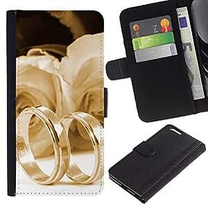 Witness of love Colorida Impresión Funda Cuero Monedero Caja Bolsa Cubierta Caja Piel Id Credit Card Slots Para Apple iPhone 6 Plus(5.5 inches)