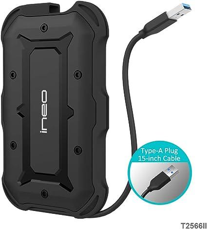USB 3.1 Gen1 SATA Waterproof Carcasa para Disco Duro Externo de ...