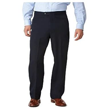 fab4f023a4 Ascott Browne Big and Tall Beltless Dacron All Polyester Pants at Amazon  Men s Clothing store