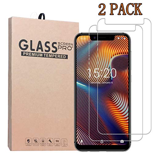 [2-Pack] UMIDIGI A3 PRO Screen Protector,Premium Quality Tempered Glass Protective Film 0.33mm Anti-Bubble Shield 9H Hardness Clear Scratch Resist Bubble-Free Anti-Fingerprint High Responsivity