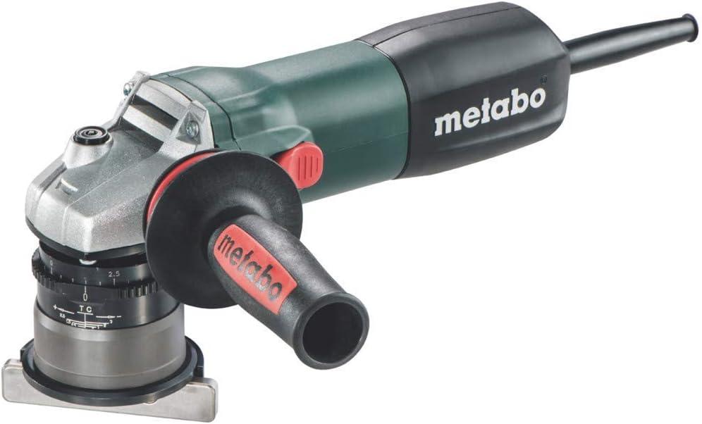 Metabo 601751700 601751700-Biseladora de Metal KFM 9-3 RF 900W MAX. Altura de Bisel 45º 4 mm, 900 W, 240 V, Negro, Size