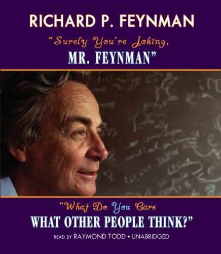 surely you re joking mr feynman and what do you care 読書メーター