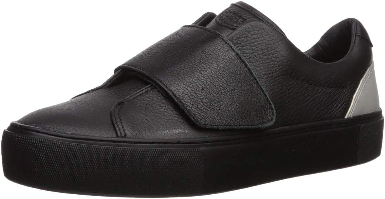 UGG Women's NERI Sneaker, Black, 7.5 M