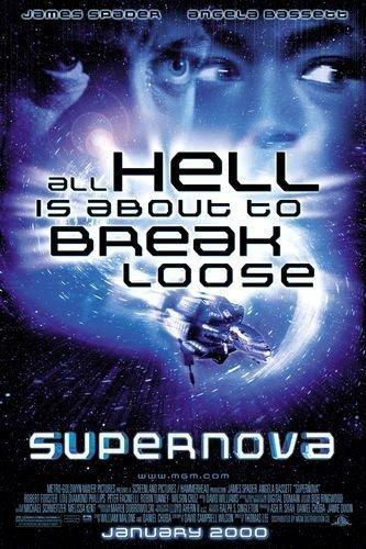 (SUPERNOVA 27x40 D/S Original Movie Poster One Sheet - 2000 James Spafer)