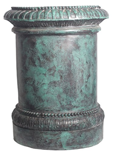 World of Bronze Statues Warehouse RGA0153 Bronze Column Pedestal, 48-Inch by World of Bronze Statues Warehouse