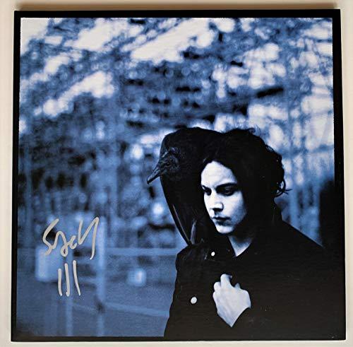 Jack White Autographed Blunderbuss solo album (signed Jack White III) (Jack White Blunderbuss Cd)