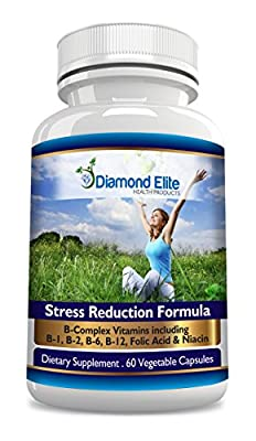 Diamond Elite's Powerful Anxiety and Stress Relief and Sleep Aid - Top Rated, Fast-acting Anxiety Relief. An All Natural Supplement Designed to Help You Quickly Overcome Stress, Anxiety, Social Anxiety and Panic Attacks. Our Unique Formula Is a Unique Com
