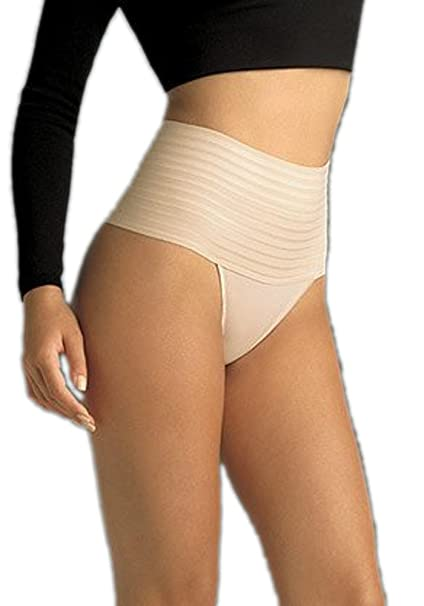 ad697a64fb Flexees by Maidenform Women s Firm Control Contour Band Thong Panty ...