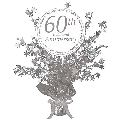 60TH Anniversary Centerpiece (Each) by Partypro ()