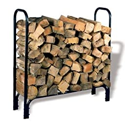 Rack Log Holder 45x13x45in Blk