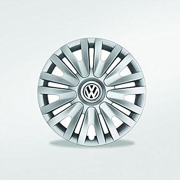 Original Volkswagen Piezas VW 15 Pulgadas Juego De Tapacubos (VW Golf 5 6 Plus Touran) 4 piezas: Amazon.es: Coche y moto
