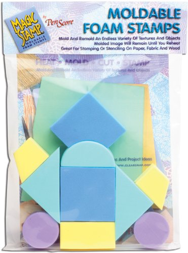 Clearsnap Magic Stamp-Geometric 10-Piece Set, Multi-Colour 462344