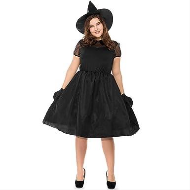 LBHHH Disfraz de Bruja de Gran tamaño de Halloween, Hombre ...