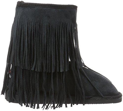 Canadians Stivali Arricciati Nero Donna 000 Black Boots 6AwARWfq8n