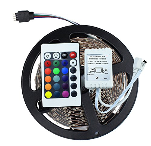 Dragonfly Mesh Candle Holder - 3528 SMD No-Waterproof RGB LED Strip Light DC 12V 5 meters 60led/m LED Flexible Light Strip with remote controller free shipping