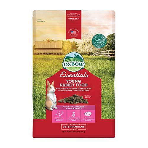 Oxbow Animal Health Essentials Young Rabbit Food (Alfalfa Based) 5 Lb ()