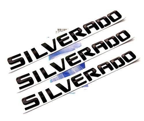 black silverado letters - 1