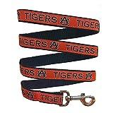 Pets First Collegiate Pet Accessories - Dog Leash - Auburn Tigers - Small