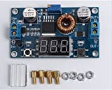 DC-DC Step Down Power Module LED Voltmeter 4V-38V to 1.25V-36V 5A Adjustable