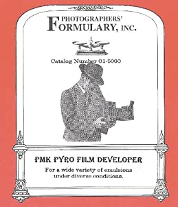 Amazon.com : Photographers' Formulary 01-5060 PMK Film
