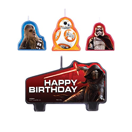 Star Wars Episode VII Birthday Candle Set -