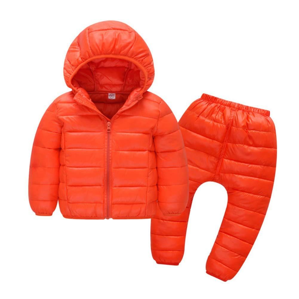 1254ab7c4 Child Jackets Coats with Pants Girls Boys Winter Snowsuit 2PCS 18-24 ...