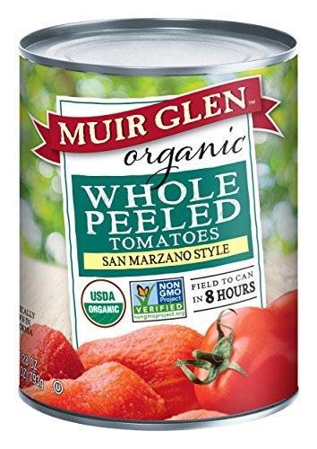 (Muir Glen Organic Whole Peeled Plum Tomatoes, 28oz)