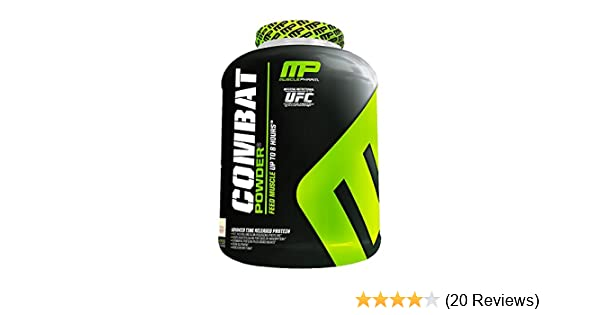 Amazon.com: Muscle Pharm Combat Powder Snickerdoodle 4 lbs (1814g): Health & Personal Care