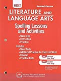 Holt Literature and Language Arts: Spelling Lessons and Activities Grade 8